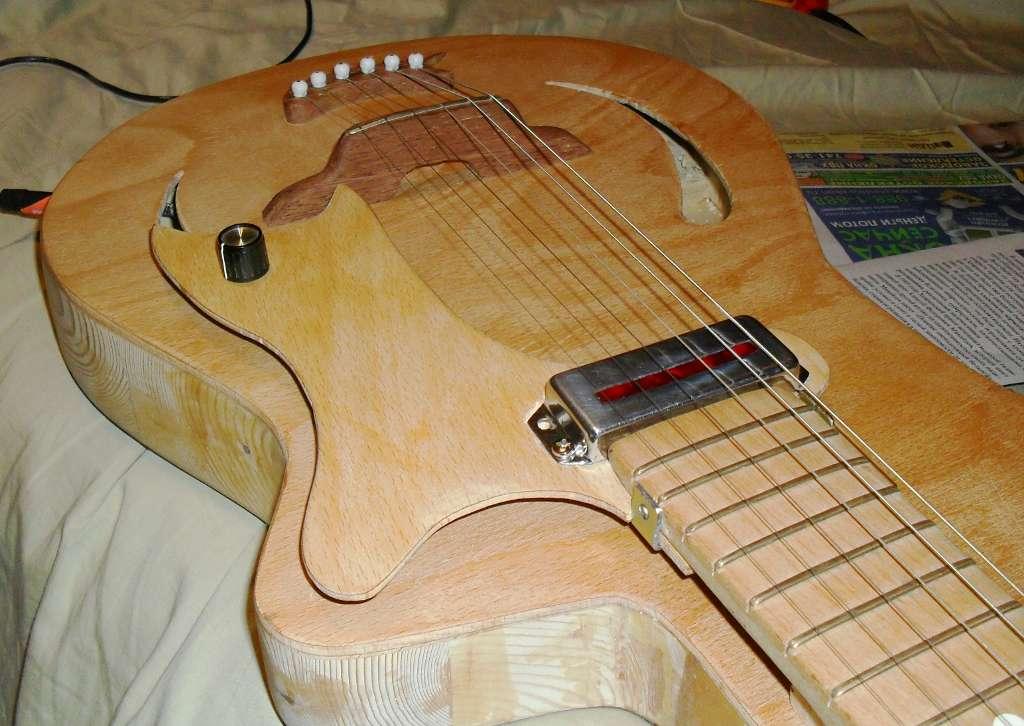 Звукосниматель для гитары самодельный