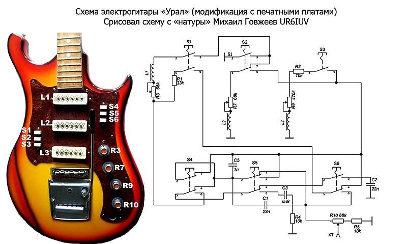 Гитара стерео звук как сделать