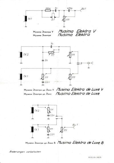 Темброблок музимы схема